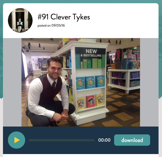 Clever Tykes Passion Pod Jodie Cook