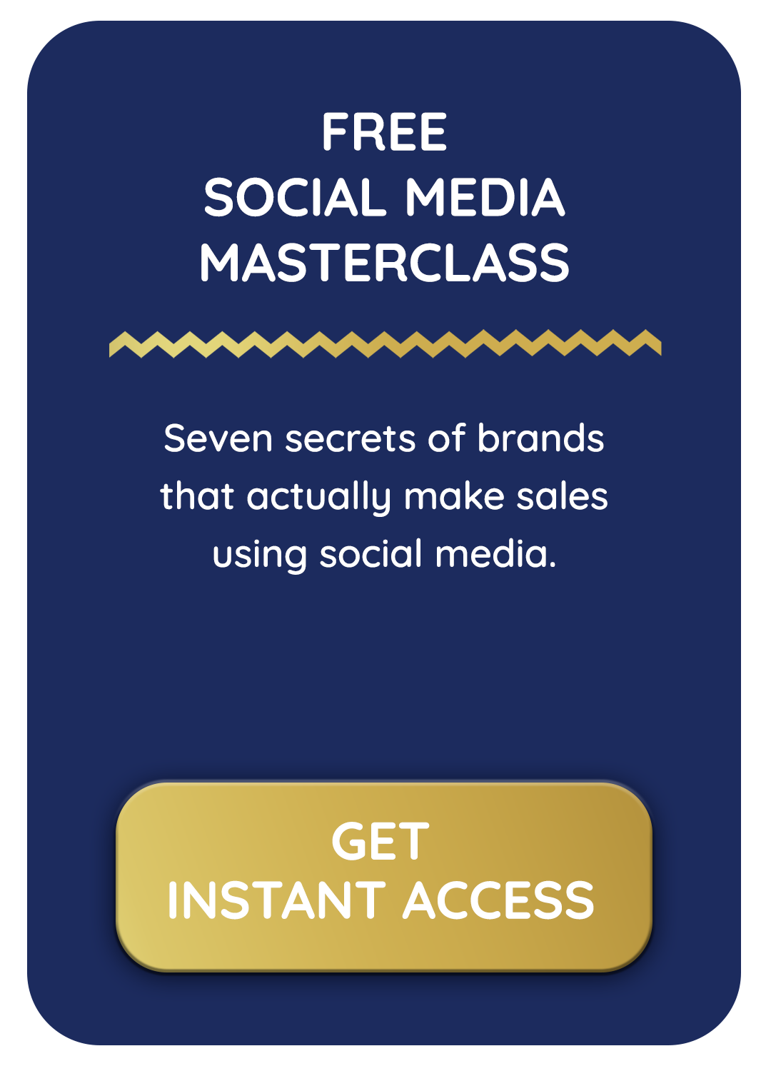 Free social media masterclass by Jodie Cook