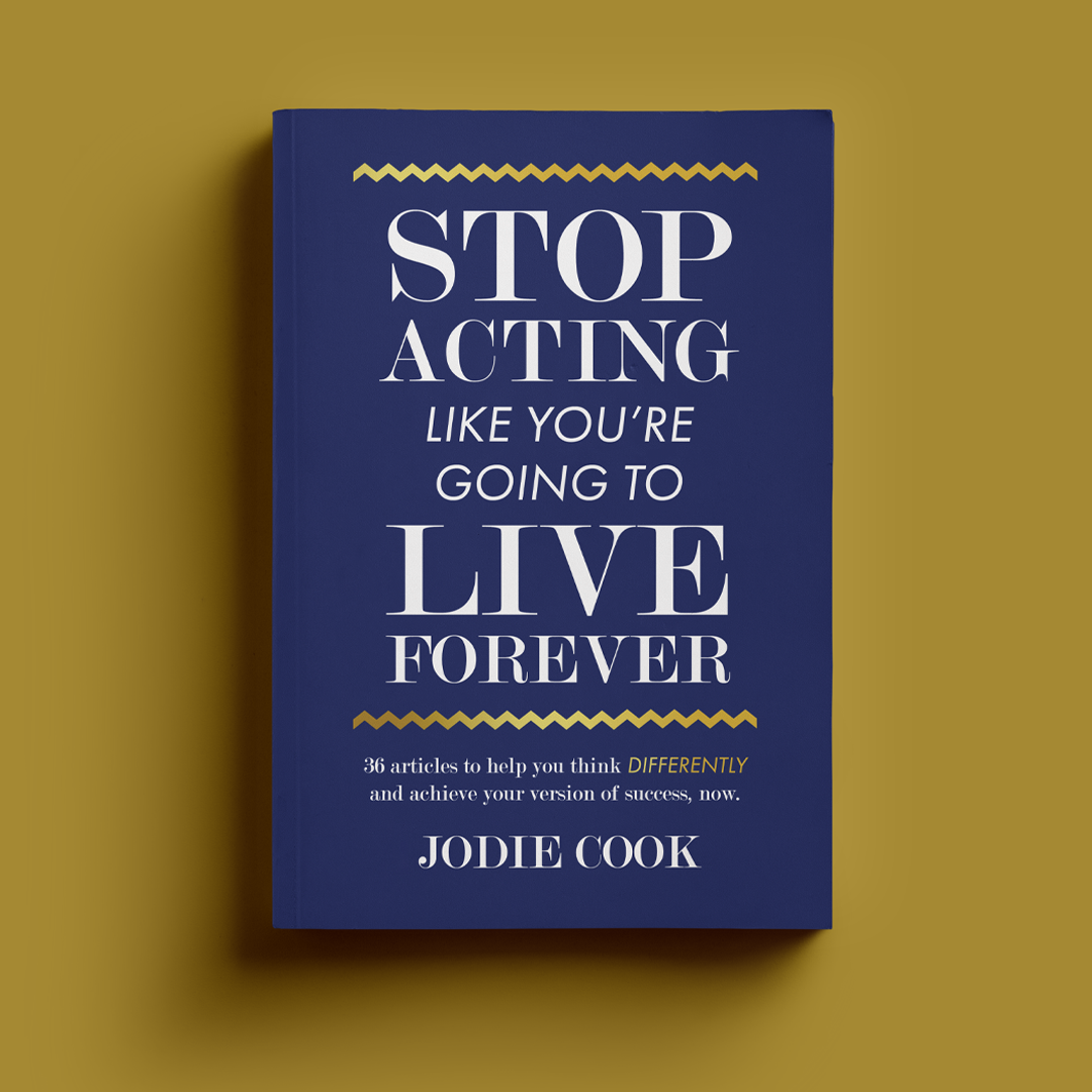 Stop Acting - GOLD New Mockup 1