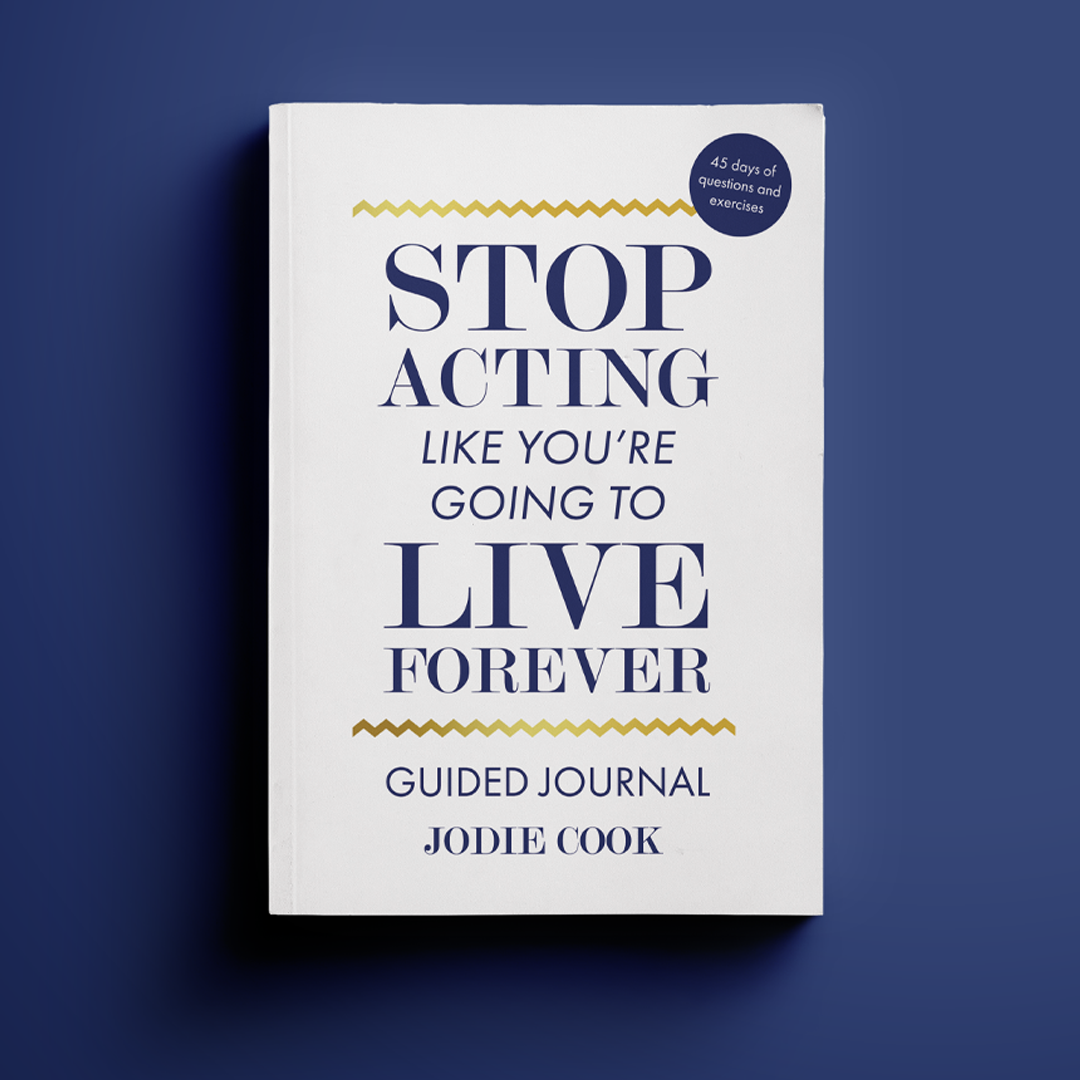 Stop Acting Guided Journal - New Mockup 1